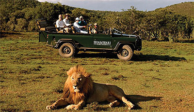 Game Drive and Traditional Meal