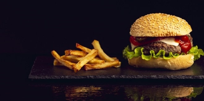 front-view-burger-with-french-fries